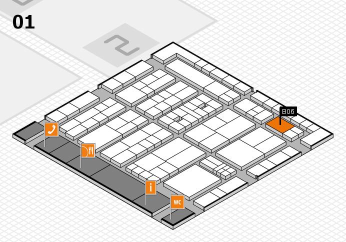 K 2016 Hallenplan (Halle 1): Stand B06