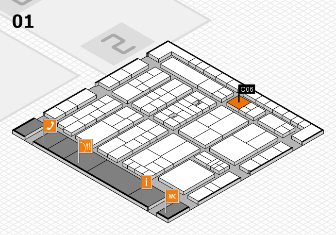 K 2016 Hallenplan (Halle 1): Stand C06