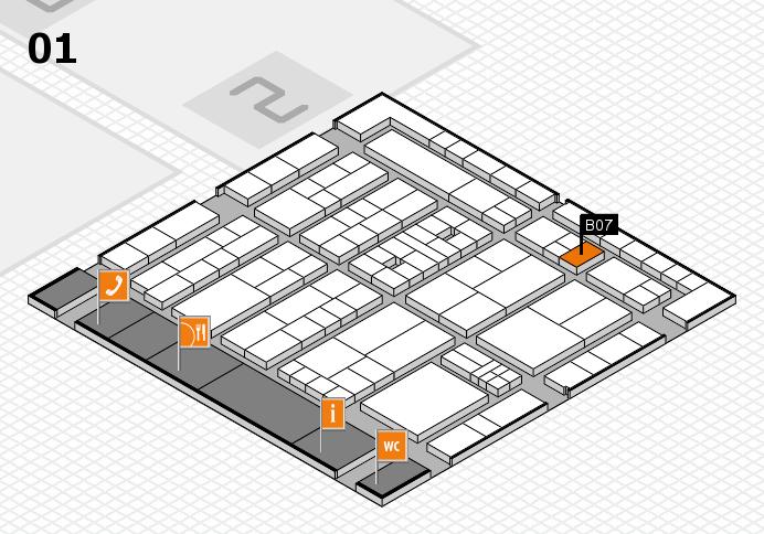 K 2016 Hallenplan (Halle 1): Stand B07