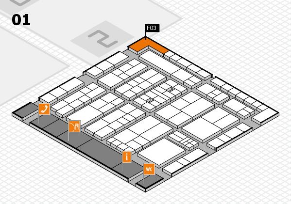 K 2016 Hallenplan (Halle 1): Stand F03