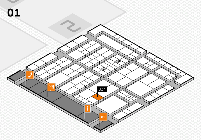 K 2016 Hallenplan (Halle 1): Stand B27