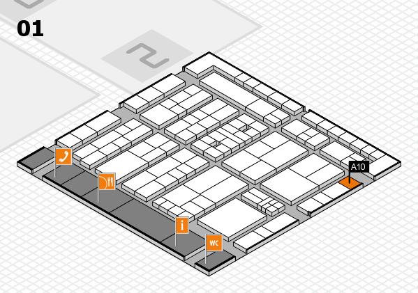 K 2016 Hallenplan (Halle 1): Stand A10