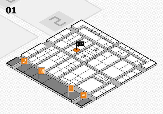 K 2016 Hallenplan (Halle 1): Stand D15