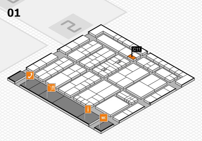 K 2016 Hallenplan (Halle 1): Stand C11