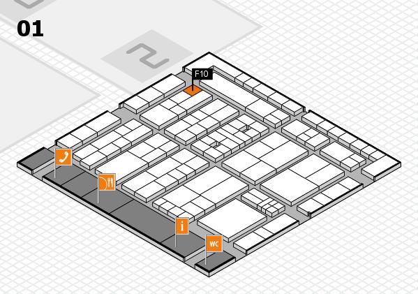 K 2016 Hallenplan (Halle 1): Stand F10