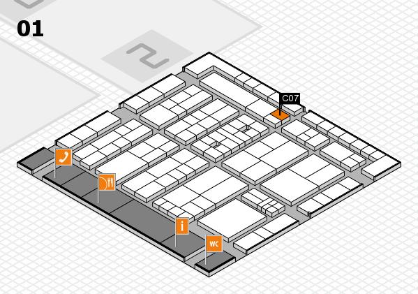K 2016 Hallenplan (Halle 1): Stand C07