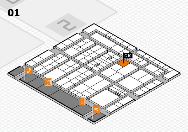 K 2016 Hallenplan (Halle 1): Stand C10