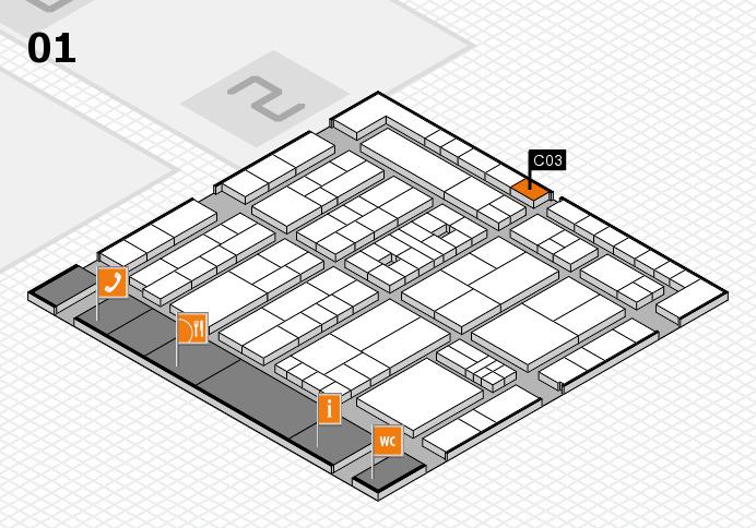 K 2016 Hallenplan (Halle 1): Stand C03