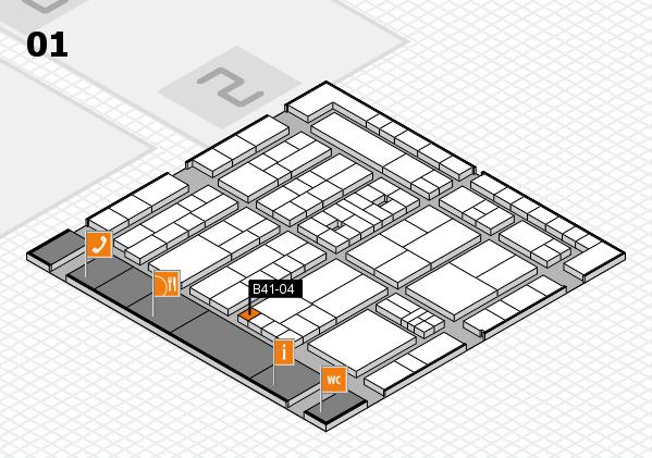 K 2016 Hallenplan (Halle 1): Stand B41-04