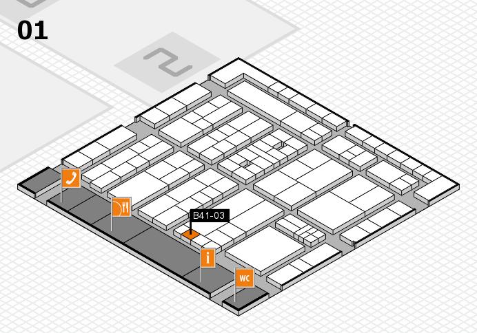 K 2016 Hallenplan (Halle 1): Stand B41-03