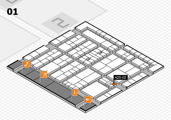 K 2016 Hallenplan (Halle 1): Stand A25-02