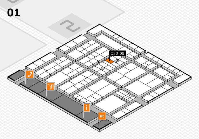 K 2016 Hallenplan (Halle 1): Stand C23-09