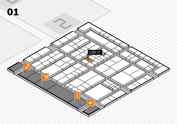 K 2016 Hallenplan (Halle 1): Stand C23-11