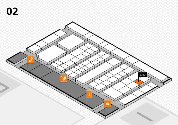 K 2016 Hallenplan (Halle 2): Stand A07