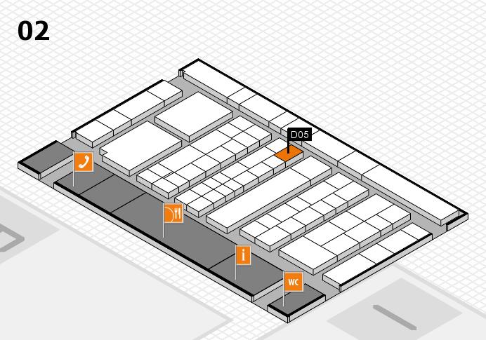 K 2016 Hallenplan (Halle 2): Stand D05