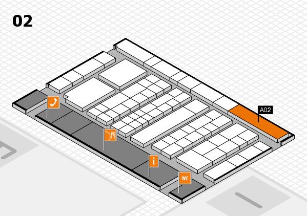 K 2016 Hallenplan (Halle 2): Stand A02