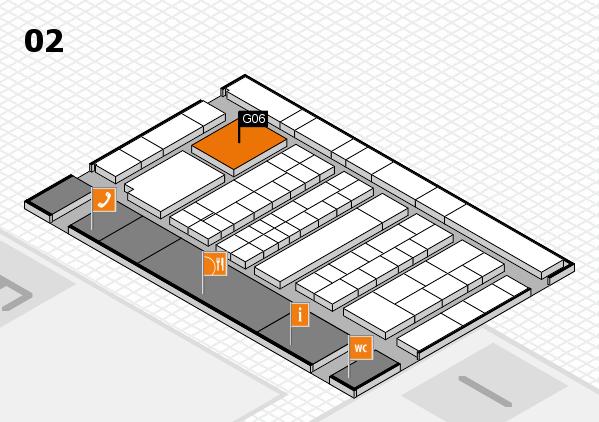 K 2016 Hallenplan (Halle 2): Stand G06