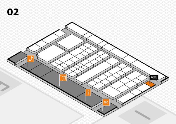 K 2016 hall map (Hall 2): stand A06