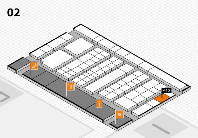 K 2016 Hallenplan (Halle 2): Stand A10