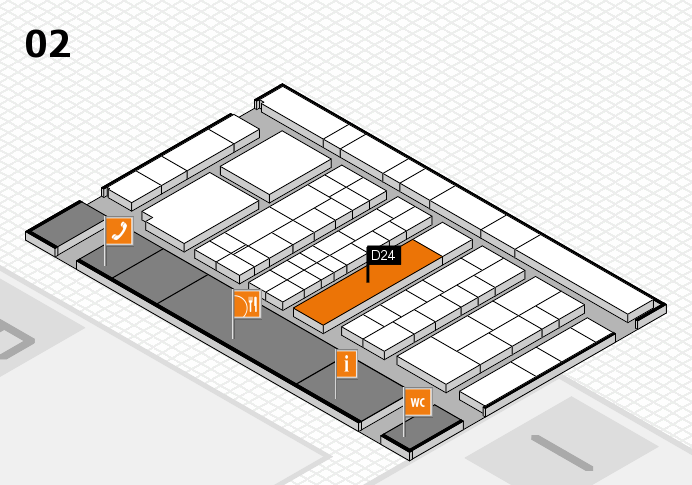 K 2016 Hallenplan (Halle 2): Stand D24
