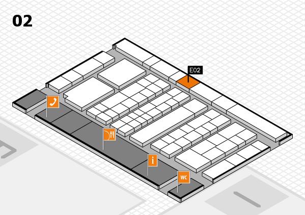 K 2016 Hallenplan (Halle 2): Stand E02