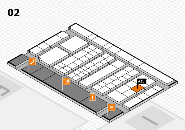 K 2016 Hallenplan (Halle 2): Stand A15