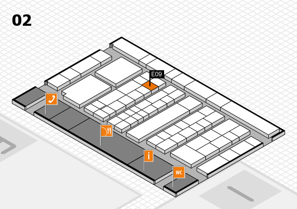 K 2016 Hallenplan (Halle 2): Stand E09