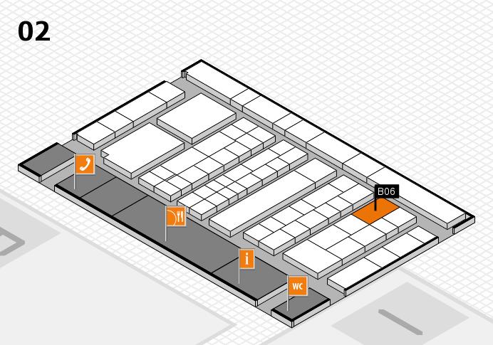 K 2016 hall map (Hall 2): stand B06