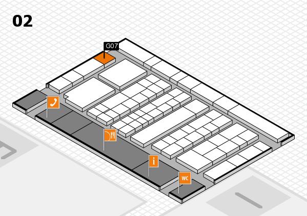 K 2016 Hallenplan (Halle 2): Stand G07