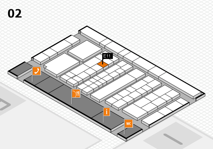 K 2016 Hallenplan (Halle 2): Stand E11