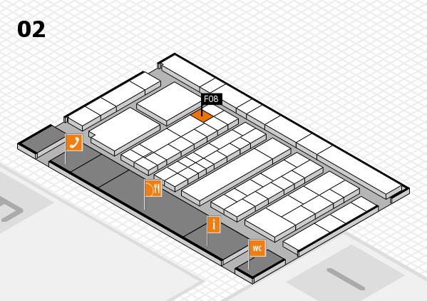 K 2016 Hallenplan (Halle 2): Stand F08