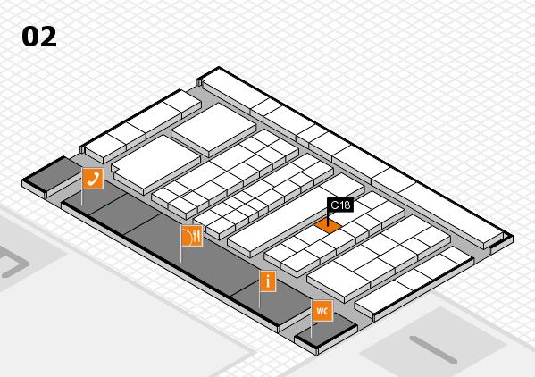 K 2016 Hallenplan (Halle 2): Stand C18