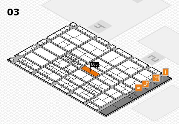 K 2016 Hallenplan (Halle 3): Stand D35