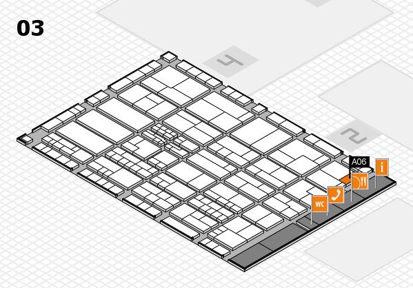 K 2016 hall map (Hall 3): stand A06