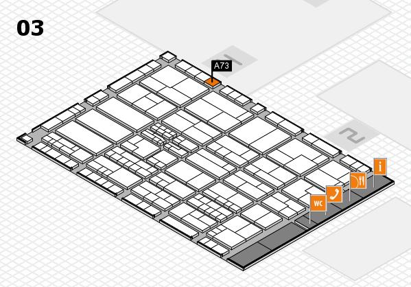 K 2016 Hallenplan (Halle 3): Stand A73