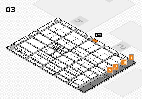 K 2016 Hallenplan (Halle 3): Stand A49