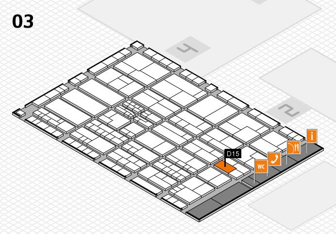 K 2016 Hallenplan (Halle 3): Stand D15