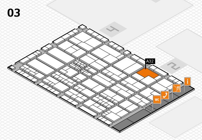 K 2016 Hallenplan (Halle 3): Stand A32