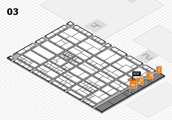 K 2016 hall map (Hall 3): stand B06