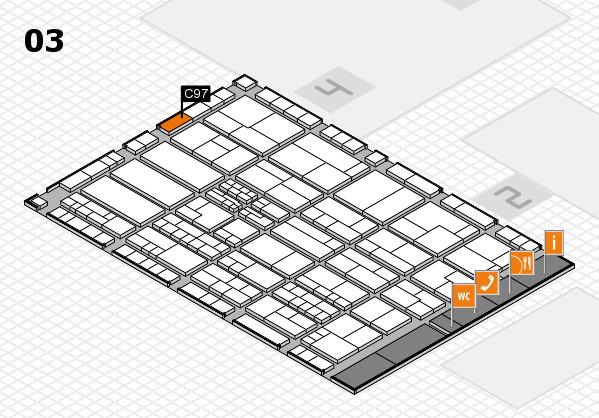 K 2016 Hallenplan (Halle 3): Stand C97