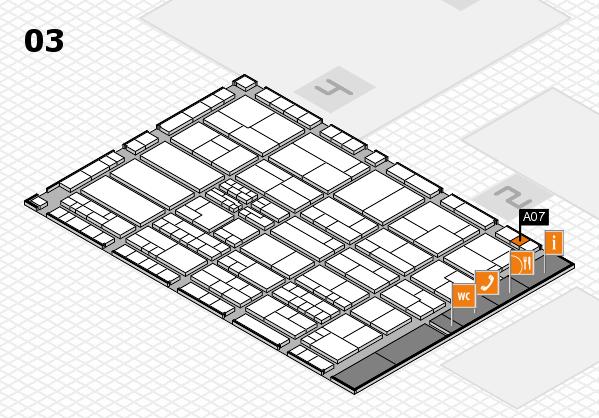 K 2016 hall map (Hall 3): stand A07