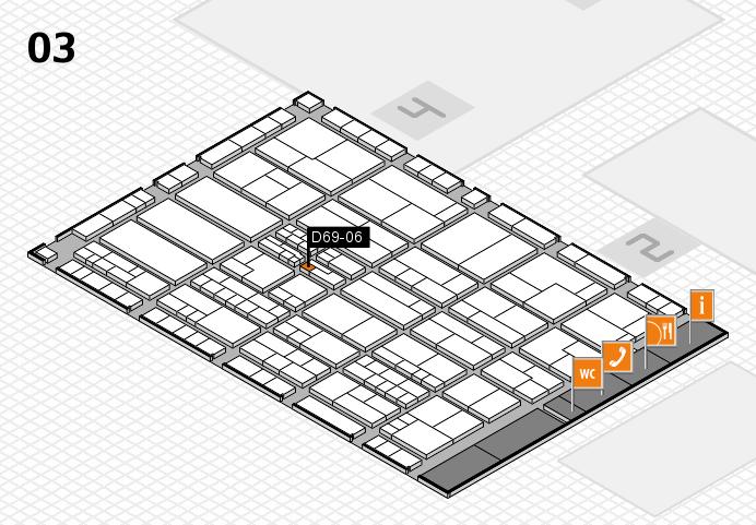 K 2016 hall map (Hall 3): stand D69-06