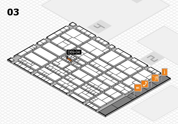 K 2016 hall map (Hall 3): stand D69-04