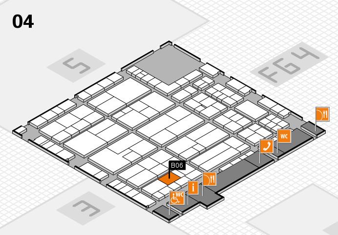 K 2016 Hallenplan (Halle 4): Stand B06