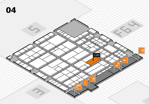 K 2016 Hallenplan (Halle 4): Stand C20
