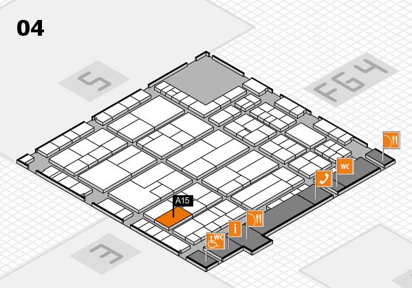 K 2016 Hallenplan (Halle 4): Stand A15