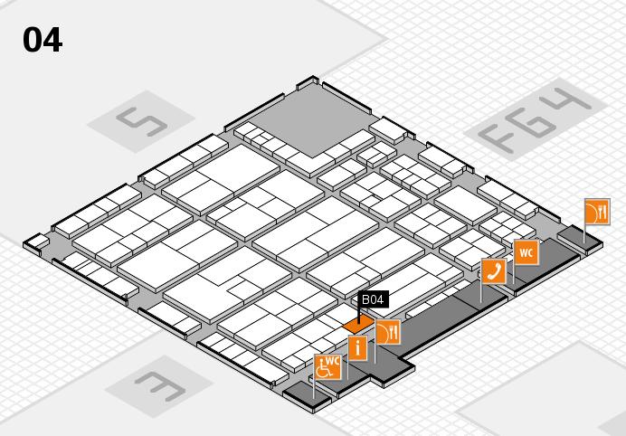 K 2016 Hallenplan (Halle 4): Stand B04