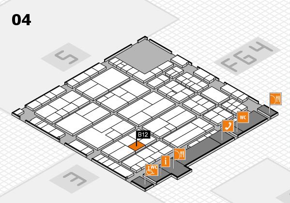 K 2016 Hallenplan (Halle 4): Stand B12