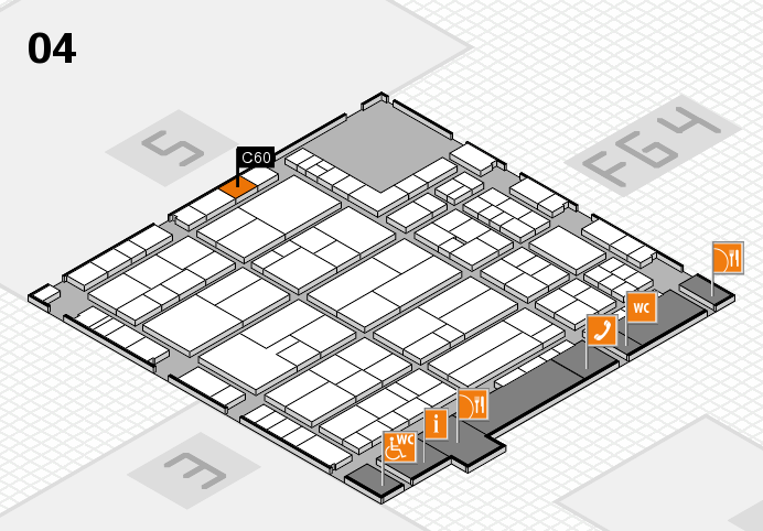 K 2016 Hallenplan (Halle 4): Stand C60