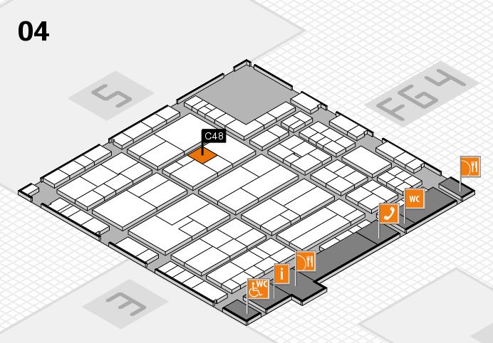 K 2016 Hallenplan (Halle 4): Stand C48